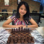Yup, that is an edible chess set ;)